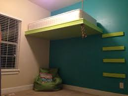 Suspended Bed Projects Ive Done Pinterest Suspended Bed - Suspended bunk beds