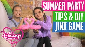 disney channel vlog summer party ideas u0026 diy best friend