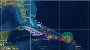 irma update hurricane pushes toward puerto rico with florida in