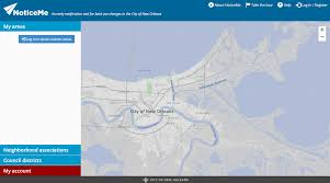 New Orleans On Map City Of New Orleans