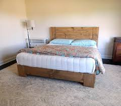 Solid Wood Platform Bed Solid Wood Platform Bed King Gallery Including Frame Home Pictures