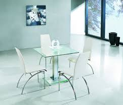 Glass Small Dining Table Java Extending Glass Dining Table Chairs Small Square Glass Hfeir
