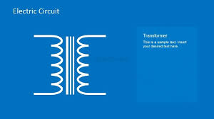 electric circuit symbols element set for powerpoint slidemodel on