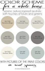 color palettes for home interior beige color scheme a color scheme for a whole house see paint