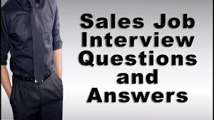 saleslady resume sample sales job interview questions and answers youtube