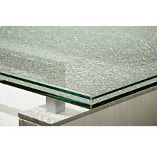 Square Glass Table Top Crackle Glass Table Tops 4396