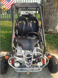 kandi kd 110gkg 2 110cc 2 seat off road gas go kart free shipping