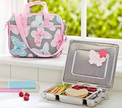 Pottery Barn Planetbox Mackenzie Gray Butterfly All In One Lunch Bag Pottery Barn Kids