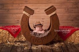 newborn photo props horseshoe prop
