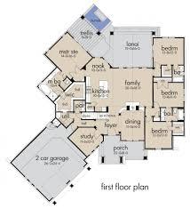 Floor Plans Craftsman Interesting House Plans Craftsman Style 2500 Sq Ft 8 European Plan