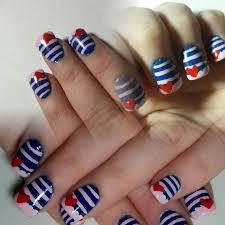 43 best nautical nails u0026 nail art design tutorial video gallery by