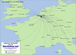 Copa Airlines Route Map by Sabena Virtual Destinations