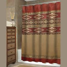 curtain southwestern shower curtain for your bathroom decor ideas