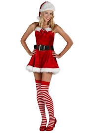 santa costumes miss santa costume womens christmas costumes