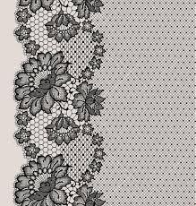 black lace ribbon black lace ribbon seamless pattern stock vector illustration of