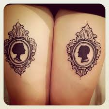 16 silhouette cameo tattoo photos for inspiration