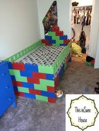 Lego Furniture For Kids Rooms by Lego Bed Fun For The Kids Pinterest Lego Bed Lego And Room