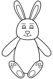 bunny coloring pictures