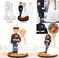 marine wedding cake toppers marine wedding cake topper toppers babycakes site