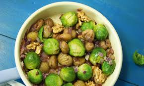 cuisine regionale brussels sprouts with chestnuts and fennel seed en