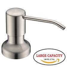 amazon soap dispenser kitchen sink avola stainless steel built in pump kitchen sink dish soap dispenser