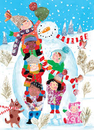 unicef card navidad natal noél