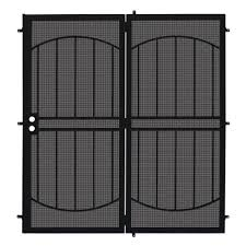 Metal Door Designs Double Door Black Security Doors Exterior Doors The Home Depot