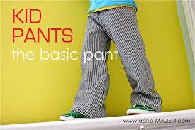 free pattern pajama pants kid pants basic made everyday