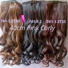 harga hair clip curly surfing window