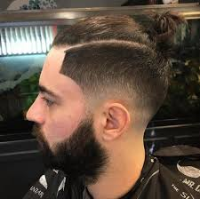 man bun short sides 20 stylish men s hipster haircuts