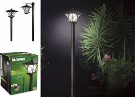 Outdoor Solar Lamp Post by Outdoor Garden Led Antique Solar Landscape Path Light Lamp Post