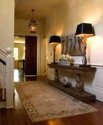 black entry hall table front hallway decor idea how to decorate narrow hallway entryway