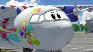 airplane cartoon for kids the airport diary illi u0027s awesome