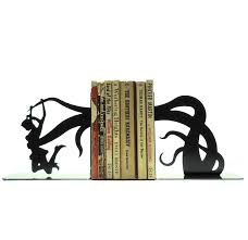 monogram bookends attack metal bookends free usa shipping