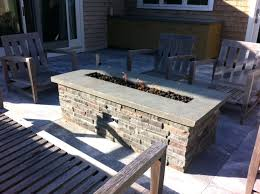 How To Build A Gas Firepit Diy Gas Pit Table How To Build A Gas Pit Coffee Table