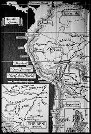 Amazon Maps Fawcett Amazon Jungle Expedition Maps Large