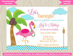 bbq luau invitation flamingo invitation hawaiian luau invitation