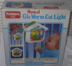 baby crib lights toys 1980s glo worm and glo friends toys and collectibles crib cot