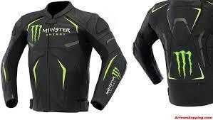 motorcycle protective jackets arrow monster energy leather motorcycle sports jacket moto gp u2013 989805