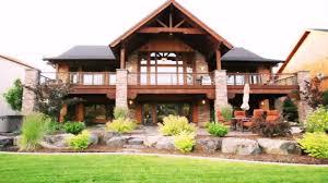 lake house plans walkout basement home office