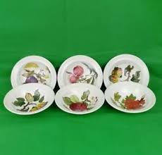 set of 6 portmeirion pomona bowls portmeirion pottery dishes ebay