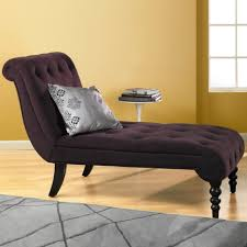 deep purple velvet lounge chair with back also black wooden