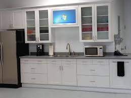 Glass In Kitchen Cabinets Cabinet Doors Enchanting White Tile Backsplash With Solid