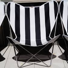 Black And White Chair Covers Canvas Butterfly Chair Covers Muumuu Design