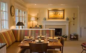 Kitchens With Banquette Seating Sumptuous Banquette Bench In Kitchen Traditional With Kitchen Open