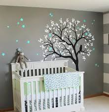 Nursery Decor Large Owl Hoot Tree Nursery Decor Wall Decals Wall