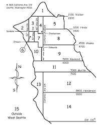 Seattle District Map by District Map West Side Presbyterian Church