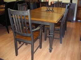Painted Oak Dining Table And Chairs Country Kitchen Tables Table Solid Oak Table And Chairs Oak