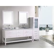 Bathroom Vanity Table Design Element London 72 Inch Double Sink Bathroom Vanity Set