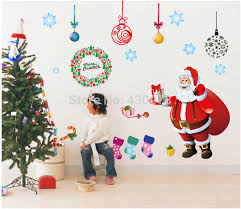 Christmas Window Decorations Wholesale by Christmas Window Stickers Picture More Detailed Picture About